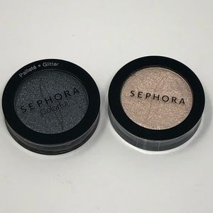 🆕Set of 2 COLORFUL EyeShadow Pots By SEPHORA